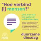 Duurzame Dinsdag-koffer open voor álle duurzame ideeën
