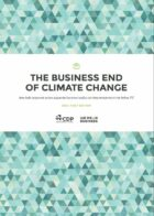Business will be key driver of global climate action, new research report reveals