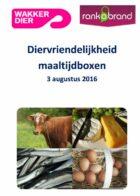 Vier van de tien maaltijdboxen krijgt onvoldoende voor dierenwelzijn