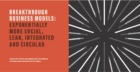 Breakthrough Business Models:  How to drive sustainable growth, in an exponential world