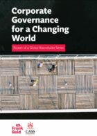 Launch of 'Corporate governance for a changing world: report of a global roundtable series'