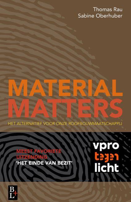 Material Matters: nieuw boek over circulair omgaan met grondstoffen