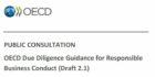 Consultatie Due Diligence Guidance voor verantwoord ondernemen in het buitenland