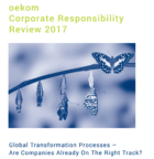 Corporate Sustainability Performance improves worldwide