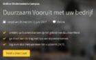 Kamer van Koophandel organiseert Massive Open Online Course (MOOC) 'Duurzaam Vooruit'