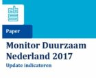 Monitor Duurzaam Nederland 2017:  Natuurlijk kapitaal staat onder druk en CO2-uitstoot is relatief groot