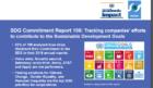 European & Asian Companies lead in deploying UN's SDGs