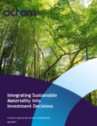 ACTIAM toont aan dat bedrijven met focus op duurzaamheid financieel beter presteren