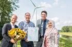 Pure Energie van Raedthuys neemt het 800ste CO2-Prestatieladder certificaat in ontvangst