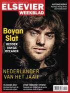 Elsevier Weekblad kiest uitvinder en ondernemer Boyan Slat (23)  tot Nederlander van het Jaar 2017