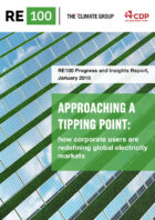 World-leading multinationals accelerating a clean economy – RE100 Report