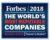Philips, Heineken en Unilever bij de 'The World's Most Reputable Companies 2018′ van Forbes