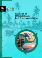 UNEP published a guide for organisational Life Cycle Assestment