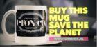 Een koffiemok die de wereld beter en schoner maakt