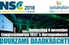 Thema en plenaire programma 18de Nationaal Sustainability Congres bekend!