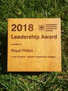 Philips receives the Sustainable Purchasing Leadership Council's 2018 Supplier Engagement Award