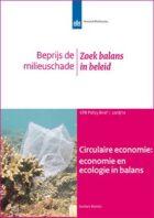 CPB: 'Circulaire economie begint bij beprijzing milieuschade'