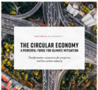 Ground-breaking analysis finds that the circular economy could make it possible to keep global warming below 2°C