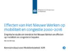 Het Nieuwe Werken blijkt inderdaad gunstig voor mobiliteit en congestie
