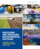 Failure to manage natural resources brings increasing interruption and liability risks for businesses