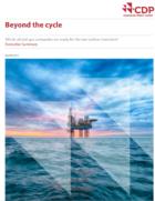 Europese oliebedrijven spenderen max. 7% aan verlaging CO2-uitstoot ; wereldwijd1,3%