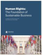 UN Global Compact launches new report on human rights as the foundation of sustainable business