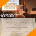 Vlaamse werkgeversorganisatie Voka bekroond als 'SDG Pioneer'