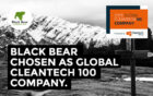 Black Bear enige Nederlandse bedrijf in de 2019 Global Cleantech 100!