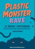 Greenpeace vraag met 'ship tour' op de Rijn aandacht voor de rol levensmiddelenfabrikanten hebben in de plasticramp