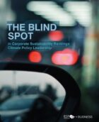 THE BLIND SPOT in Corporate Sustainability Rankings: Climate Policy Leadership