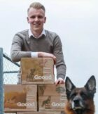 Student-ondernemer Twan Tak (Avans) bouwt aan het CO2-neutrale Goood hondenvoer