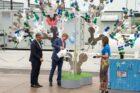 Koning Willem-Alexander opent duurzame waterstofinstallatie HyStock
