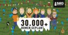 Bird Brewery plant ruim 30.000 bomen dankzij duurzame samenwerkingen
