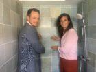 Eerste circulaire badkamer waarin 3.400 plastic flesjes zijn verwerkt