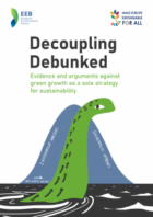 Decoupling debunked: Why green growth is not enough