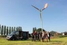 Boeren FrieslandCampina tonen veel interesse in kleine windmolens
