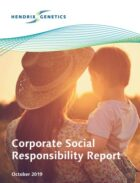 Hendrix Genetics' published its first Corporate Social Responsibility Report