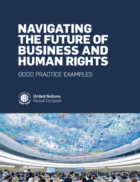 United Nations Global Compact issues new report to help companies advance human rights