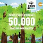Bierbrouwerij plant ruim 50.000 bomen