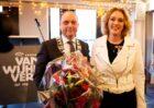 Koninklijke onderscheiding voor Marlies van Wijhe, directeur Koninklijke Van Wijhe Verf Zwolle