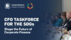 UN Global Compact launches the CFO Taskforce for the SDGs