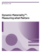 Truvalue Labs' Research on Dynamic Materiality™ Sheds New Light on Financial Implications of ESG