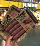 Eerste 'bloedende' vegan burger en saucijs in de supermarkt; Moving Mountains®