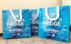 Waste2Wear recycled koelkasten en airconditioners in stevige herbruikbare tassen