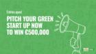1 miljoen euro voor groene start-ups die bijdragen aan een betere wereld