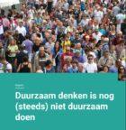 Duurzaam denken is (nog steeds) niet duurzaam doen voor de Nederlander