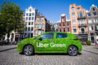 Uber introduceert Uber Green in Nederland