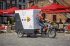 Start pilot voor pakketbezorging in Nijmeegse binnenstad met elektrische transportfiets