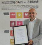 MAAS ontvangt als eerste in de koffiebranche het CO2 Prestatieladder certificaat