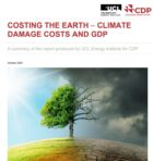 CDP and UCL report climate change costs to reach US$31 trillion a year if emissions not urgently reduced